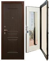 Входные металлические двери Кондор М3 с зеркалом: цена и характеристики